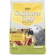 Higgins Safflower Gold Parrot Bird Food, 3-lb bag