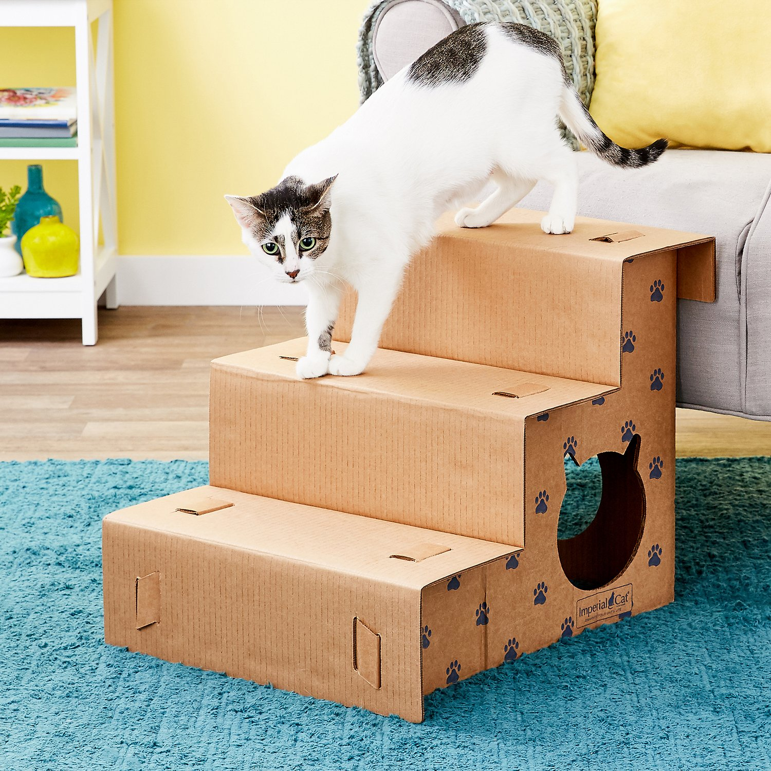 Imperial Cat Step N Play Cat Steps Chewy Com