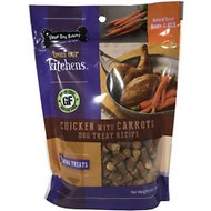 Three Dog Bakery Kitchens Chicken and Carrots Training Dog Treats, 5-oz bag