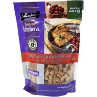 Three Dog Bakery Kitchens Duck and Cranberries Training Dog Treats, 5-oz bag