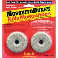 Summit Mosquito Dunks Larvae Control Tablets, 2 count