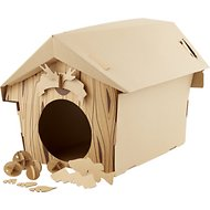 Suck UK Cat Playhouse Cardboard Cabin
