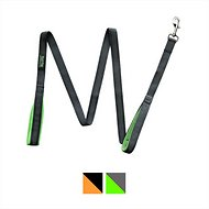 Mighty Paw HandleX2 Dual Padded Handle Dog Leash, Grey & Green