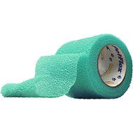 Andover Healthcare PetFlex Dog, Cat & Small Animal Bandage, Teal, 2-in