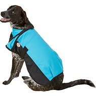 Derby Originals 600D Waterproof Dog Blanket Coat, Hurricane Blue/Black, 22-in