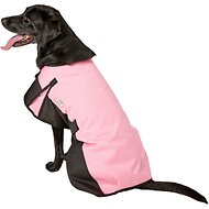 Derby Originals 600D Waterproof Dog Blanket Coat, Pink/Black, 26.5-in