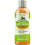 Pro Pet Works Oatmeal Pet Wash Dog & Cat Shampoo & Conditioner, 17-oz bottle
