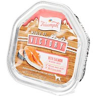 Triumph Meals of Victory with Salmon in Savory Juices Dog Food Trays, 3.5-oz, case of 15