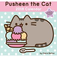 Andrews McMeel Pusheen 2018 Wall Calendar