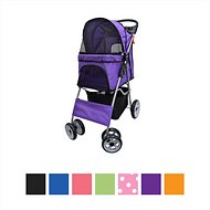 VIVO 4 Wheel Dog & Cat Stroller, Purple