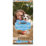 Puppy Chow Natural with Real Chicken & Beef Dry Dog Food, 30-lb bag