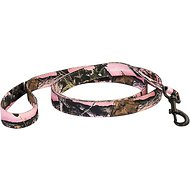 Pet Champion Hunting Camouflage Dog Leash, 5-ft, Pink Camo
