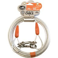 Pet Champion Tie-Out Dog Cable, Large, 25-ft