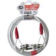 Pet Champion Tie-Out Dog Cable, Heavy, 30-ft