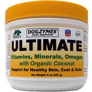 Nature's Farmacy Dogzymes Ultimate Dog, Cat & Small Animal Supplement, 8-oz jar