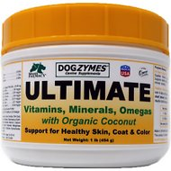 Nature's Farmacy Dogzymes Ultimate Dog, Cat & Small Animal Supplement, 1-lb jar