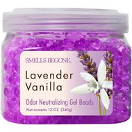 Smells Begone Lavender Vanilla Odor Neutralizing Gel Beads, 12-oz jar