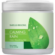 Smells Begone Calming Rain Odor Absorbing Solid Gel, 15-oz jar