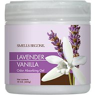 Smells Begone Lavender Vanilla Odor Absorbing Solid Gel, 15-oz jar