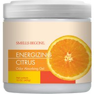 Smells Begone Energizing Citrus Odor Absorbing Solid Gel, 15-oz jar