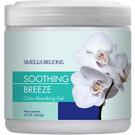 Smells Begone Soothing Breeze Odor Absorbing Solid Gel, 15-oz jar