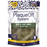 ProDen PlaqueOff System Dog Dental Care Bones Vegetable Fusion Flavor, 17-oz