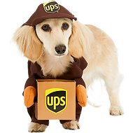 California Costumes UPS Delivery Driver Dog Costume, X-Small