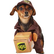 California Costumes UPS Delivery Driver Dog Costume, Small