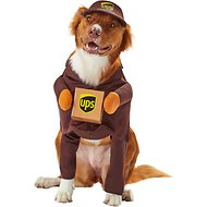 California Costumes UPS Delivery Driver Dog Costume, Medium