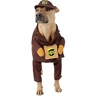 California Costumes UPS Delivery Driver Dog Costume, Large
