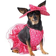 California Costumes Pretty in Pink Dog Costume, XSmall