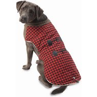 PetRageous Designs Jackson Buffalo Check Dog Toggle Jacket, Large