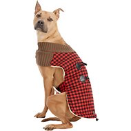 PetRageous Designs Jackson Buffalo Check Dog Toggle Jacket, X-Large