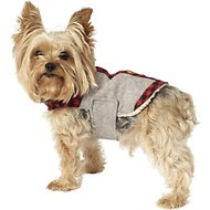 PetRageous Designs Jackson Faux Fur Trim Dog Lodge Coat, X-Small
