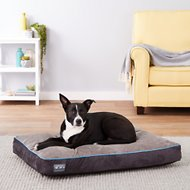 Better World Pets Waterproof Memory Foam Orthopedic Dog Bed, Ocean Blue, Medium
