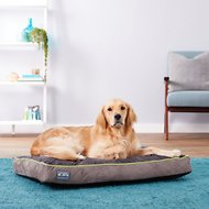 Better World Pets Waterproof Memory Foam Orthopedic Dog Bed, Medium, Rave Green
