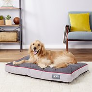 Better World Pets Waterproof Memory Foam Orthopedic Dog Bed, Spanish Red, Large