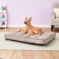 Better World Pets Waterproof Memory Foam Orthopedic Dog Bed, Midnight Grey, X-Large