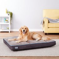 Better World Pets Waterproof Memory Foam Orthopedic Dog Bed, Ocean Blue, X-Large