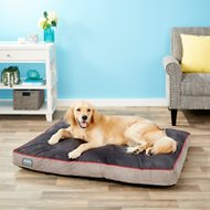 Better World Pets Waterproof Memory Foam Orthopedic Dog Bed, Spanish Red, X-Large