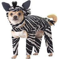 California Costumes Zebra Dog Costume, XSmall