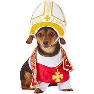 California Costumes Holy Hound Pope Dog Costume, XSmall