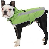 PetRageous Designs Madison Dog Parka, Apple Green, Small