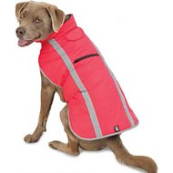 PetRageous Designs Madison Dog Parka, Watermelon, Medium
