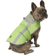 PetRageous Designs Madison Dog Parka, Apple Green, Medium