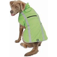 PetRageous Designs Madison Dog Parka, Apple Green, X-Large
