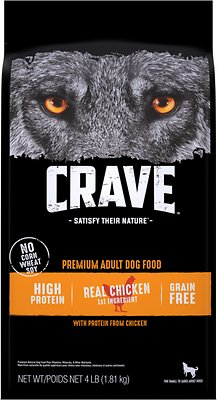 6. Crave with Protein from Chicken Grain-Free Dry Dog Food