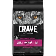 Crave with Protein from Lamb & Venison Adult Grain-Free Dry Dog Food, 22-lb bag