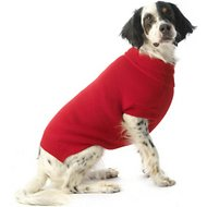 PetRageous Designs Baxter's Basic Dog Sweater, Large, Red