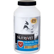 Nutri-Vet Multi-Vite Plus Chewable Dog Supplement, 180 count